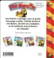 Pour lire ensemble ; P'tit Garçon ; sur le chantier avec Axel - 4ème de couverture - Format classique