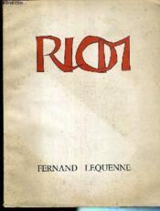 Riom - Petite Ville Grande Histoire / Collection Le Bibliophile En Auvergne - Tome Xi - Exemplaire N°540 Sur Edition Du Marais. - Couverture - Format classique