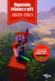 Minecraft ; agenda (édition 2020/2021) - Couverture - Format classique