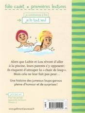 Lubin et Lou ; les enfants loups-garous T.9 ; chair de loup - 4ème de couverture - Format classique