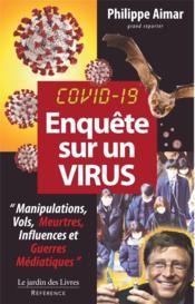 Enquête sur un virus - Couverture - Format classique