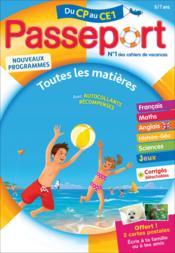 Passeport ; du CP au CE1 - Couverture - Format classique