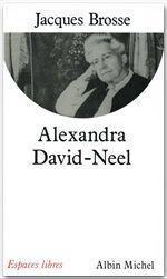 Alexandra david-neel - Couverture - Format classique