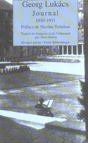 Journal 1910-1911 - Intérieur - Format classique