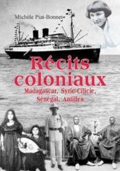 Recits coloniaux - Couverture - Format classique