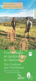 Promenades et randonnées en Vercors ; Coulmes-Royans Isère - Couverture - Format classique
