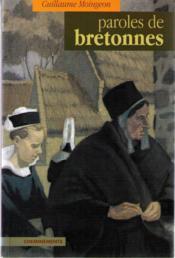 Paroles De Bretonnes - Couverture - Format classique