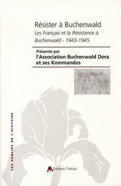 Résister à buchenwald - Intérieur - Format classique