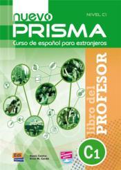 Nuevo prisma C1; libro del profesor - Couverture - Format classique