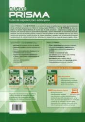 Nuevo prisma C1; libro del profesor - 4ème de couverture - Format classique