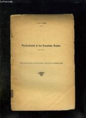 POINTIS INARD ET LES INVASIONS ARABES. EXTRAIT DE LA REVUE DE COMMINGES TOME LXVIII 2em TRIMESTRE 1955. - Couverture - Format classique