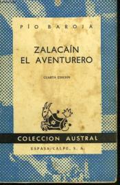 Zalacain, El Aventurero - Couverture - Format classique