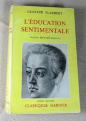 L'éducation sentimentale. - Couverture - Format classique
