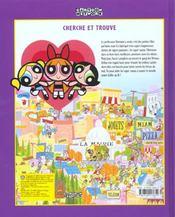 Powerpuff Girls ; Album Cherche Et Trouve - 4ème de couverture - Format classique