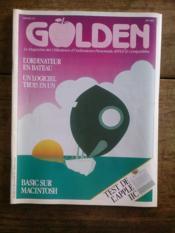 GOLDEN N° 6 le magazine des utilisateurs d'ordinateurs personnels APPLE et compatibles - Couverture - Format classique