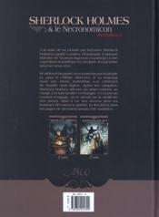 Sherlock Holmes et le necronomicon ; intégrale - 4ème de couverture - Format classique