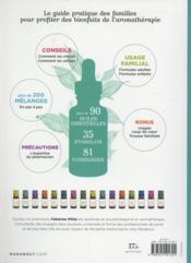 Le grand guide des huiles essentielles - 4ème de couverture - Format classique