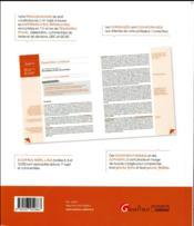 Annales et sujets d'actualité ; principes fondamentaux de droit constitutionnel (édition 2016) - 4ème de couverture - Format classique
