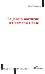 Jardin nocturne d'Hermann Hesse - Couverture - Format classique