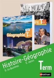 Histoire-géographie ; terminale : livre de l'élève (édition 2020) - Couverture - Format classique