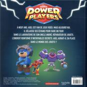 Power Players ; les nouveaux pouvoirs d'Axel - 4ème de couverture - Format classique