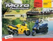 Rmt 115.2 Yamaha Yp 125r Mbk Yp 125r Honda Vfr 800fi - Couverture - Format classique