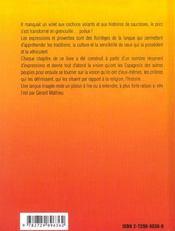 Quand Les Grenouilles Auront Des Poils Mille Et Une Expressions Pour Apprendre L'Espagnol - 4ème de couverture - Format classique