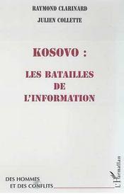 Kosovo ; les batailles de l'information - Intérieur - Format classique