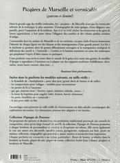 Picqûres de Marseille et vermiculés - 4ème de couverture - Format classique