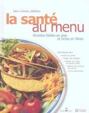Sante au menu - Intérieur - Format classique