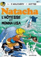 Natacha t.7 ; l'hôtesse et Monna Lisa - Couverture - Format classique