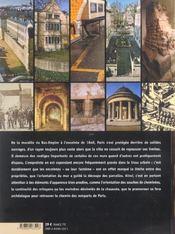 Sur les traces des enceintes de Paris ; promenades au long des murs disparus - 4ème de couverture - Format classique