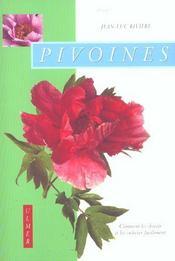 Pivoines - Intérieur - Format classique