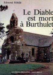 Diable est mort à Burthulet - Couverture - Format classique