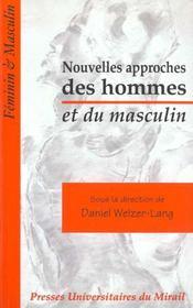 Nouvelles Approches Des Hommes Et Du Masculin - Intérieur - Format classique