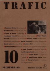 Revue Trafic N.10 - Couverture - Format classique