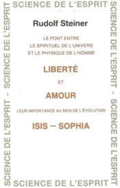 Liberte et amour - Couverture - Format classique