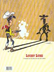 Les nouvelles aventures de Lucky Luke t.1 ; la belle province - 4ème de couverture - Format classique