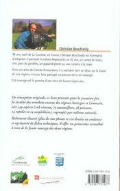 Faune D'Auvergne Et Du Limousin - 4ème de couverture - Format classique