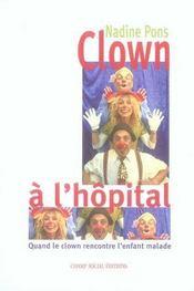 Clown a l'hôpital - Intérieur - Format classique