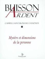 Mystere Et Dimensions De La Personne Buisson Ardent N8 - Couverture - Format classique