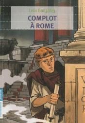 Complot à Rome - Couverture - Format classique