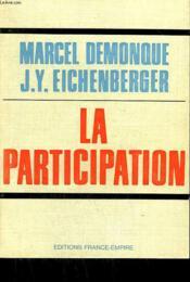 La Participation. - Couverture - Format classique