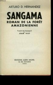 Sangama. - Couverture - Format classique