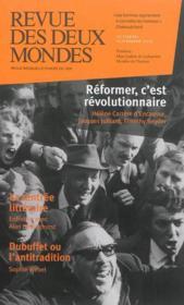 REVUE DES DEUX MONDES N.10.11 ; réformer, c'est révolutionnaire - Couverture - Format classique
