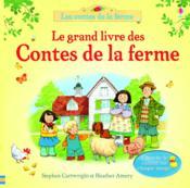 Le grand livre des contes de la ferme - Couverture - Format classique
