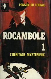 Rocambole I - L'Heritage Mysterieux - Couverture - Format classique