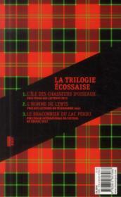 La trilogie écossaise - 4ème de couverture - Format classique