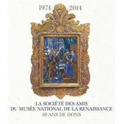 La société des amis du Musée national de la Renaissance ; 40 ans de dons - Couverture - Format classique
