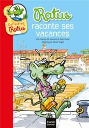Ratus raconte ses vacances - Couverture - Format classique